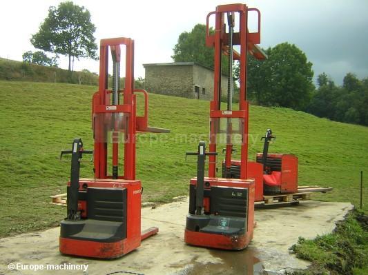 Tillf 228 Llen Och Nya Pallstaplare Machineryzone